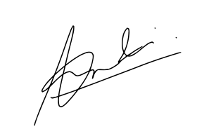 Milind Audichya Sign